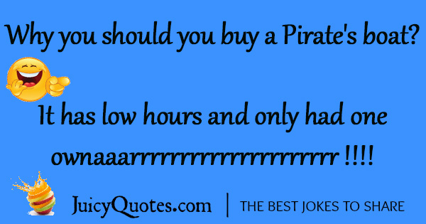 Funny Pirate Joke - 24