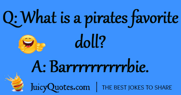 Funny Pirate Joke - 25