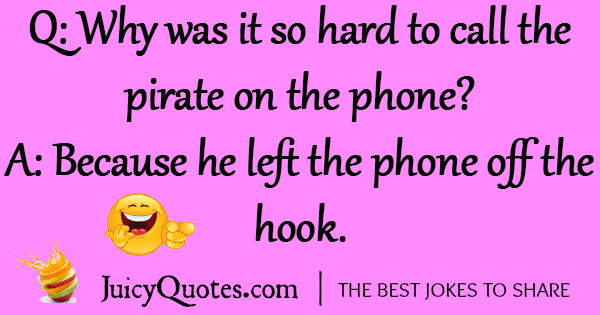 Funny Pirate Joke - 6