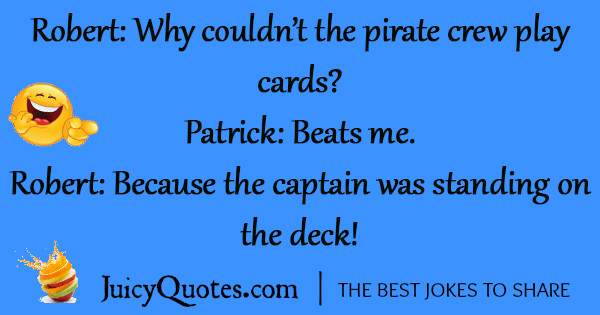 Funny Pirate Joke - 9