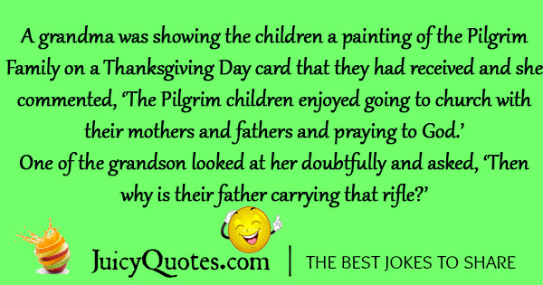 Funny Thanksgiving Joke - 1
