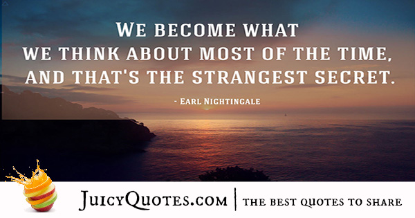 Quote About Success - Earl Nightingale