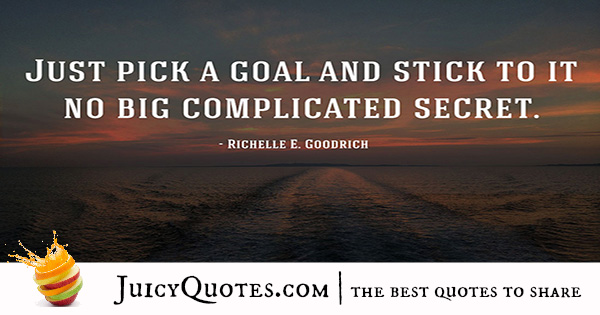 Quote About Success - Richelle E. Goodrich