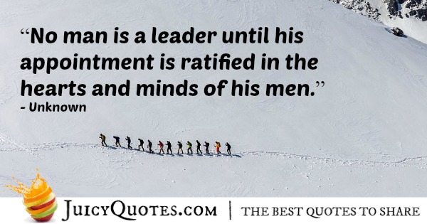 Quote About Leadership - Unknown1
