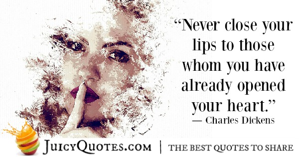 Romantic Quote - Charles Dickens