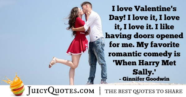 Romantic Quote - Gennifer Goodwin