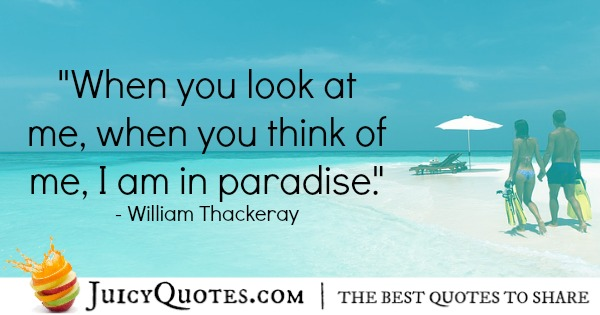 Romantic Quote - William Thackeray