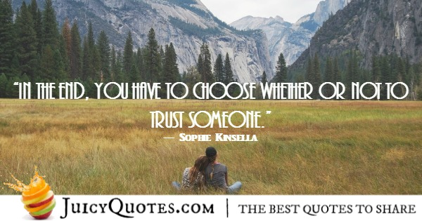 Trust-Quote-Sophie-Kinsella