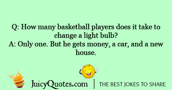 Basketball Jokes - 1