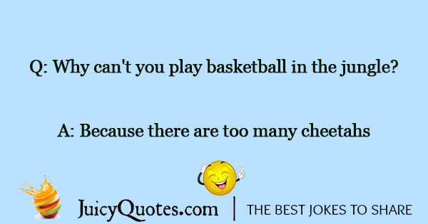 Basketball Jokes - 3
