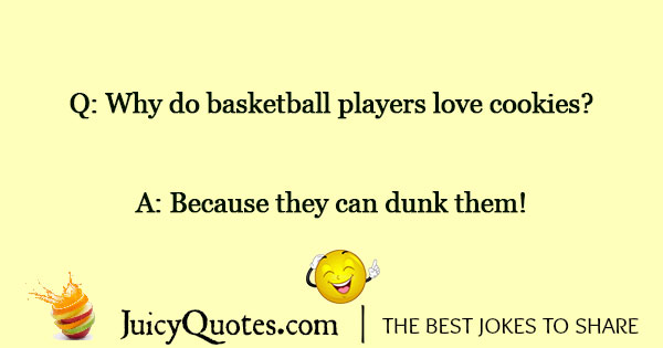 Basketball Jokes - 5