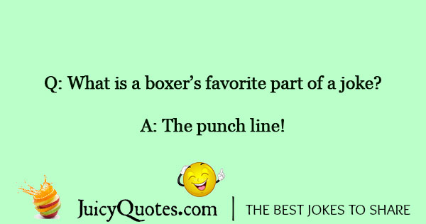 Boxing Jokes - 3