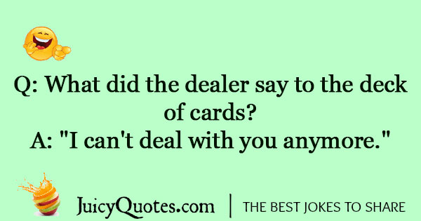 Card Game Joke - 1