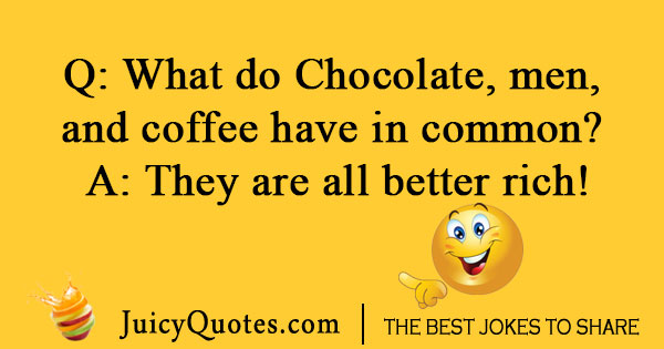 Chocolate Coffee Joke