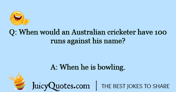 Cricket Joke - 1