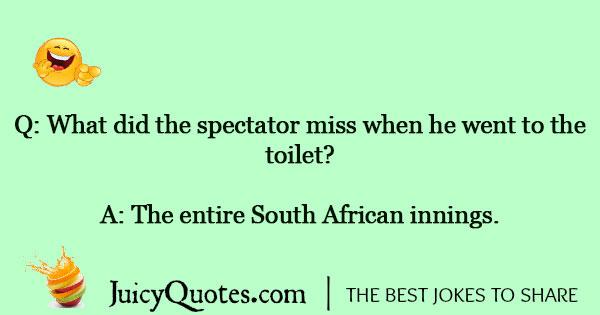 Cricket Joke - 3