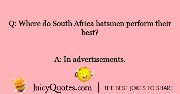 Cricket Joke - 8
