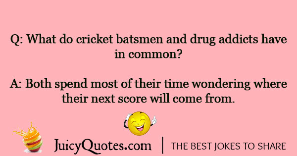 Cricket Joke - 9
