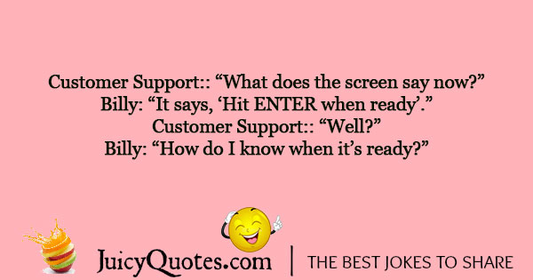 Customer Service Joke - 4