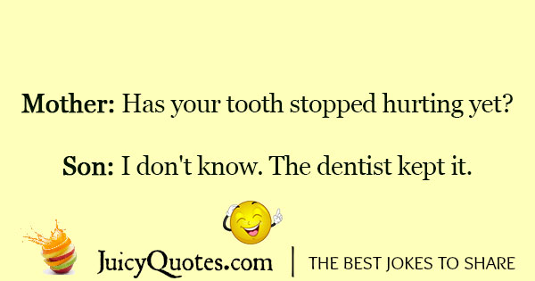 Dentist Joke - 9