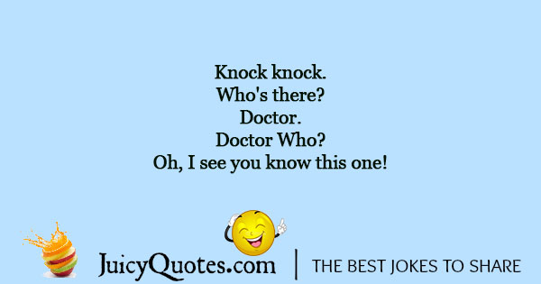 Doctor Who Joke - 1