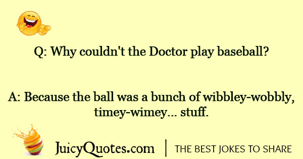 Doctor Who Joke - 5