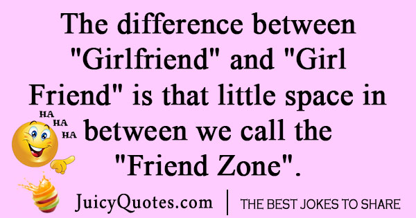 Friend vs girlfriend joke