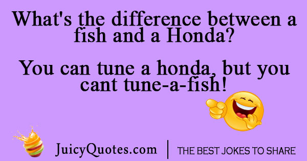 Fish and Honda joke