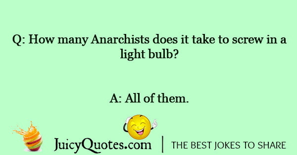 Light Bulb Joke - 2