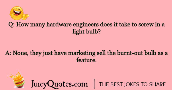 Light Bulb Joke - 22