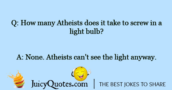 Light Bulb Joke - 3