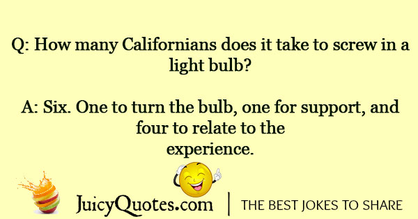 Light Bulb Joke - 7
