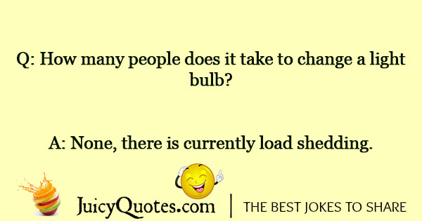 Load Shedding Joke - 3