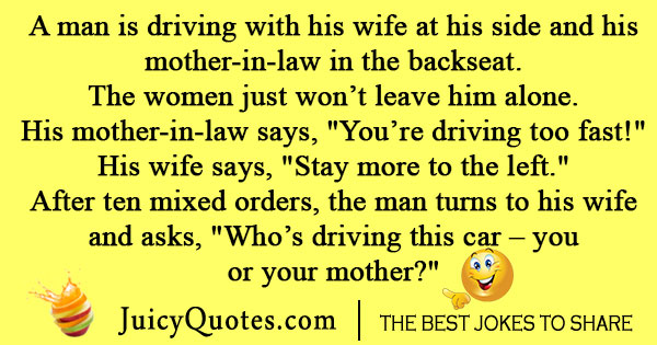 Funny Mother In Law Joke