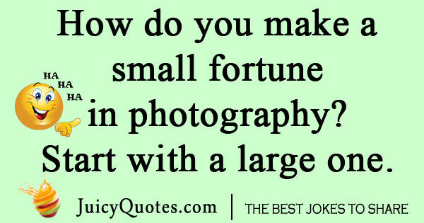 Silly Photography Joke