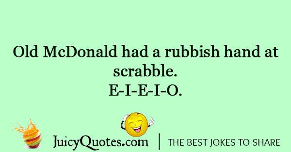 Silly Scrabble Joke - (With Picture)