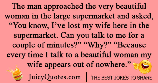 Supermarket Shopping Joke