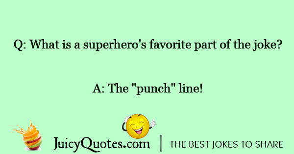 Superhero Joke - 1