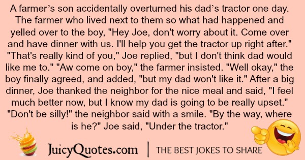 Best tractor joke of the year