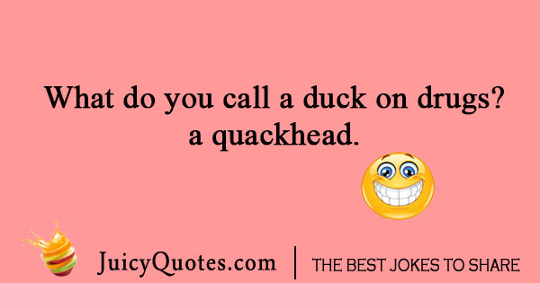 Duck and drug joke