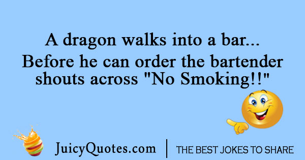 Dragon Clash of Clans joke in a bar