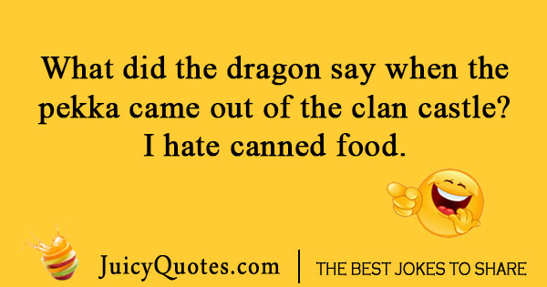Dragon Clash of Clans Joke