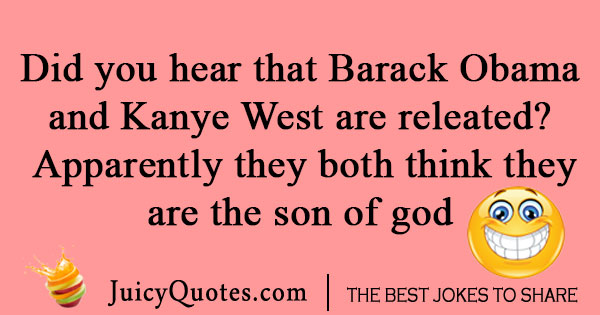 Obama and Kanye West Joke