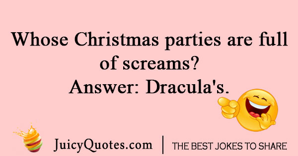 Christmas Party Joke