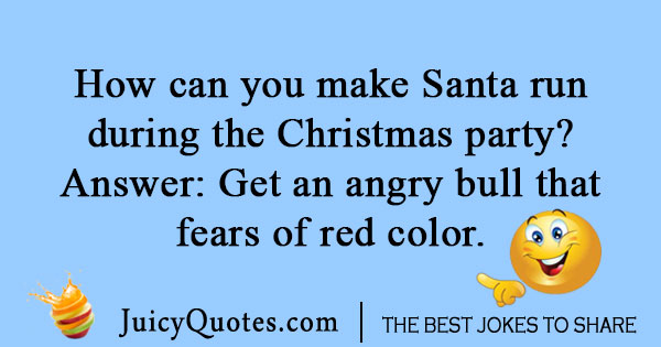 Santa Christmas Party Joke