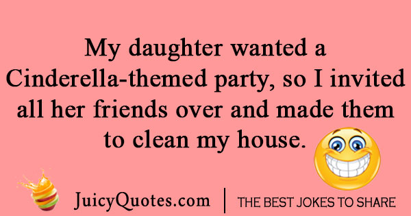 Daughter Party Joke