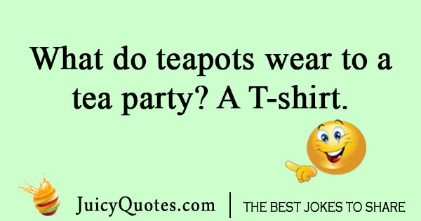 Tea party joke