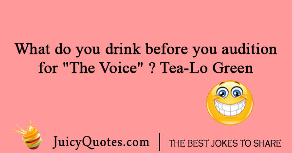 Tea-Lo Green joke