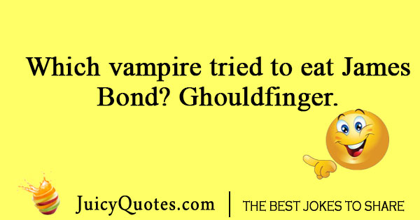 Vampire eating joke
