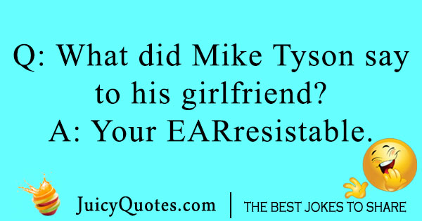 Mike Tyson boxing joke
